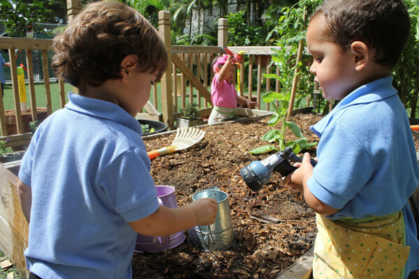 Child Care for Garden and Nature Learning